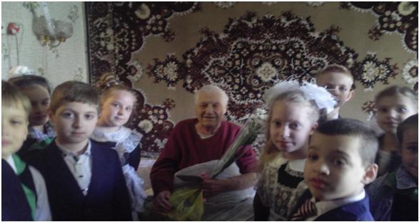 Поздравление ветерана Великой Отечественной Войны с Днем Рождения