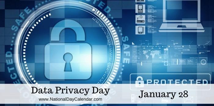 28 января: Международный день защиты персональных данных