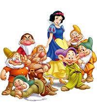 Сказка «Snow White and the 7 Dwarfs»