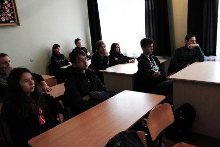 Заседание клуба любителей немецкого языка