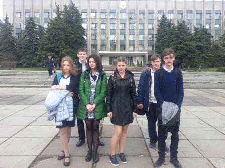 Встреча с ученической молодежью
